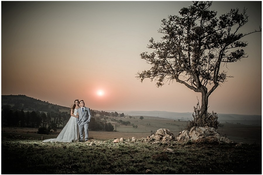 Megan and Jacques wedding at Kloofzicht
