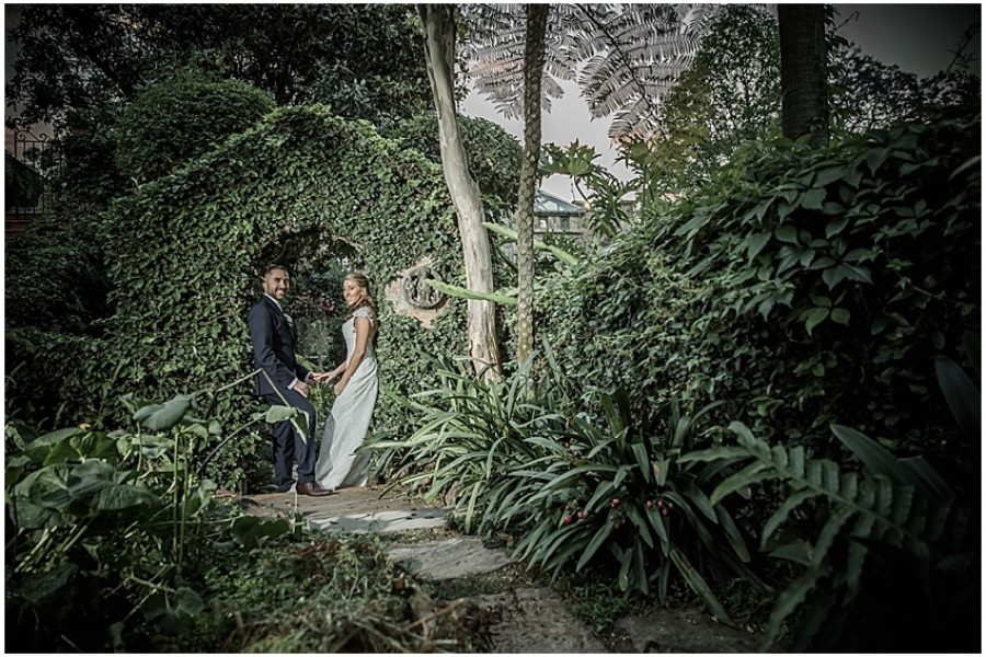 Robyn & Jonty's wedding at Shepstone Gardens