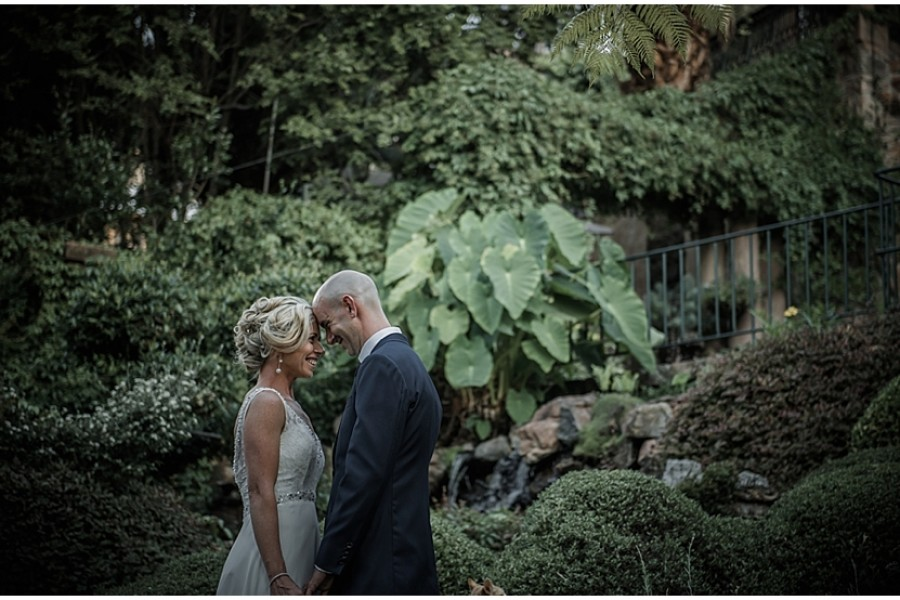 Giulio and Bronwyn's wedding at Shepstone Gardens