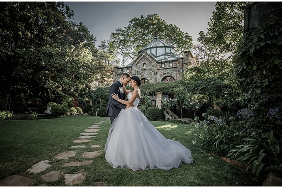 Monica and Claudio's wedding at Shepstone Gardens