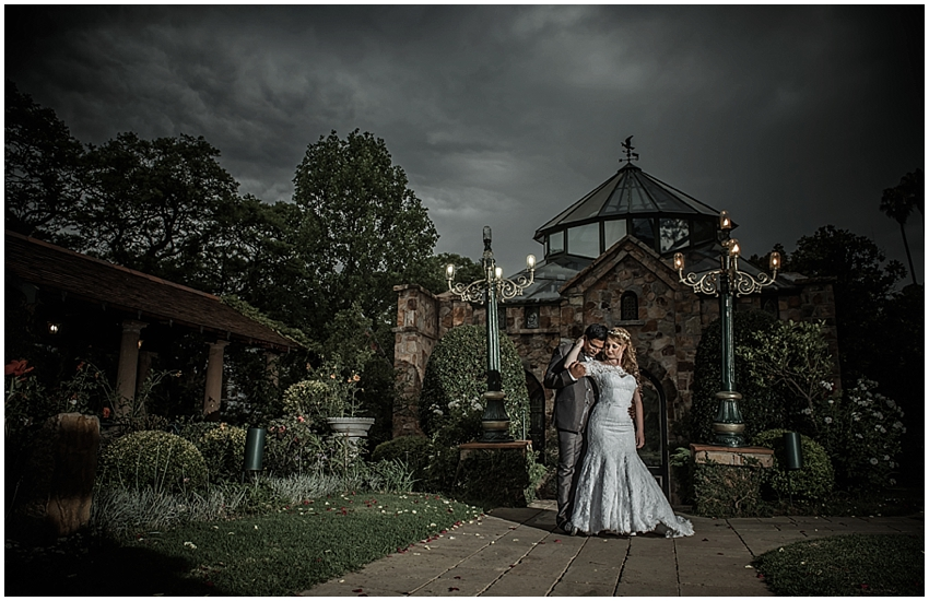 Kelly & Devlin's wedding at Shepstone Gardens