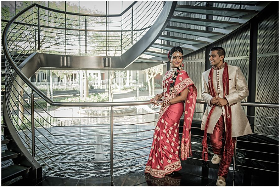 Yuvi and Leree's wedding at the Durban ICC
