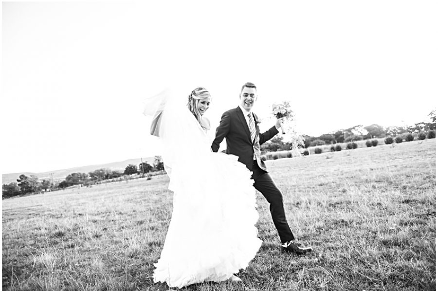 Celeste and Joe's wedding at Oakfield Farm