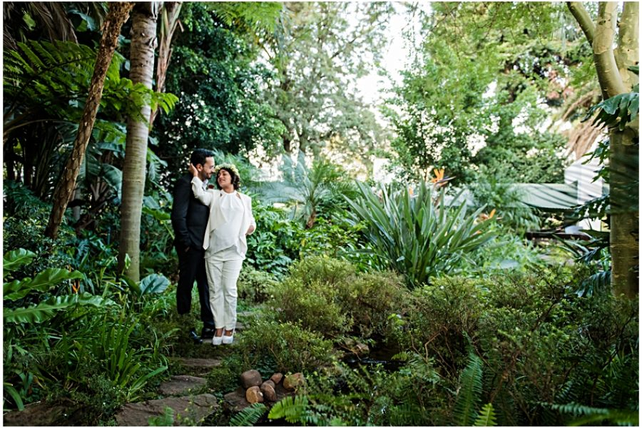 Rakesh & Lee's intimate wedding at Browns Rivonia