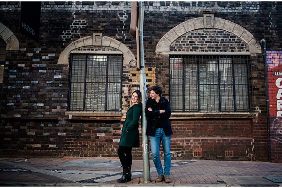 Mark and Stephanie's Engagement shoot in Maboneng
