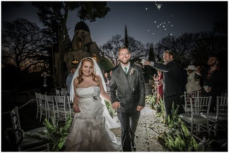 Tracy and Phil's wedding at Shepstone Gardens