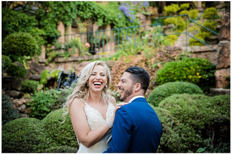 Tanya & Nicolhas' wedding at Shepstone Gardens