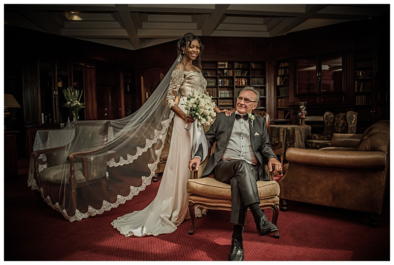 Wendy and George's wedding at the Kyalami castle
