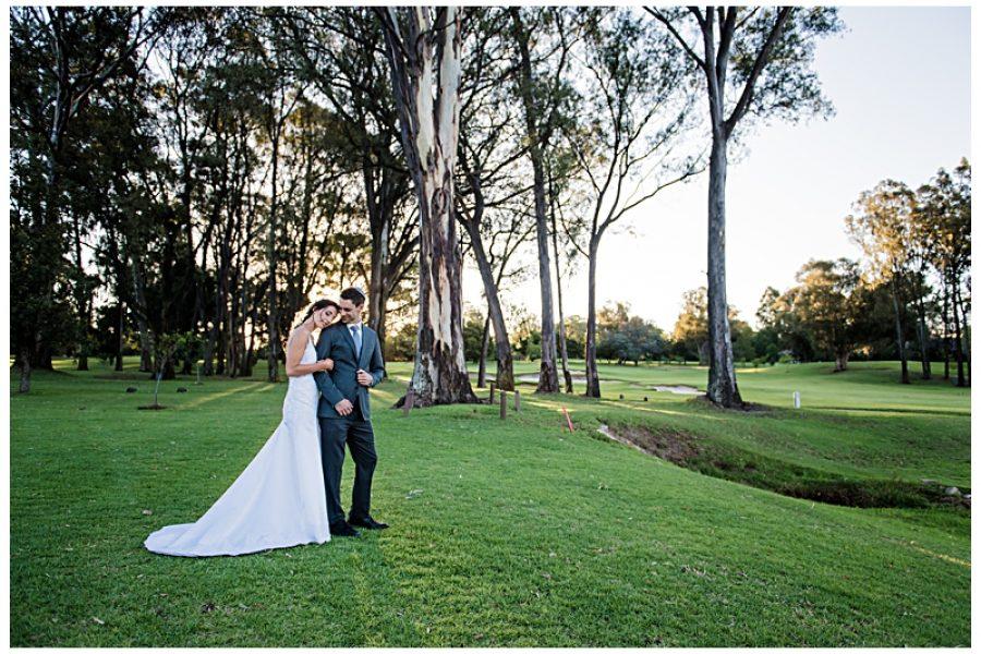 Dan & Leigh's wedding at the Houghton Golf club