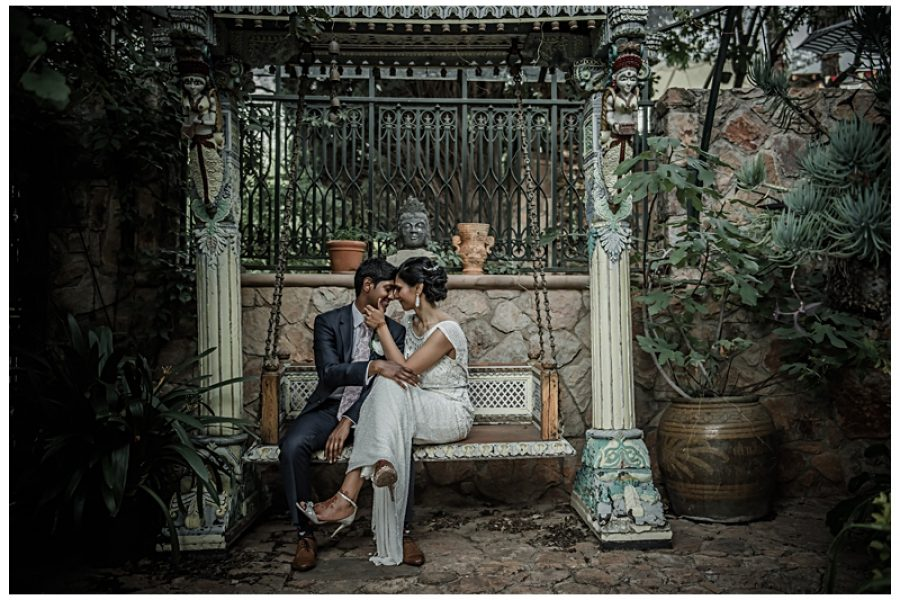 Candice and Kuni's Hindu and Christian wedding at Shepstone Gardens