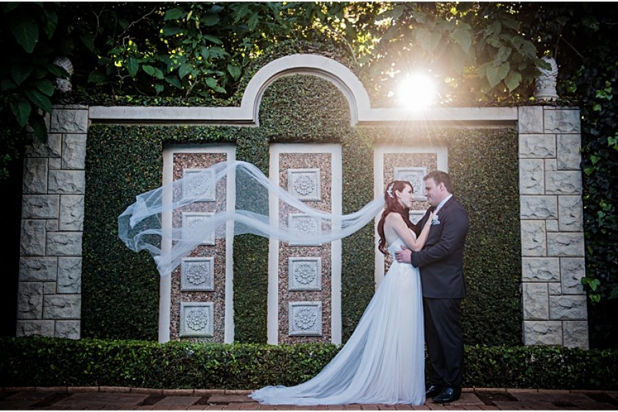 Tamzyn & Douglas' wedding at Morrells