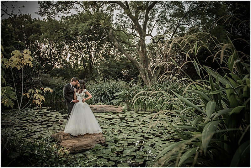 Sianne & Marc's wedding at Sandton Shul