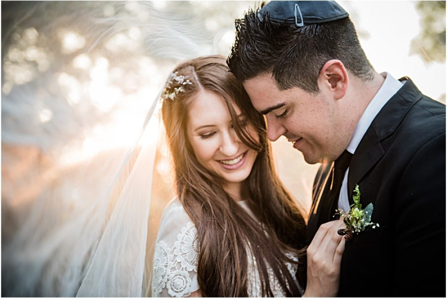Mark and Jessica's wedidng at Sandton Shul