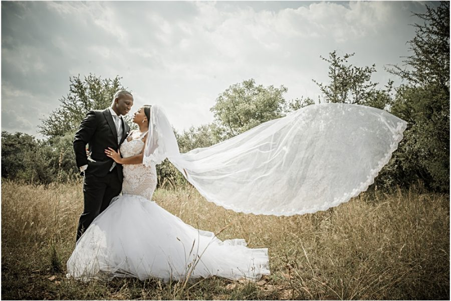 Melissa and Nlume's wedding in Gaberone, Botswana