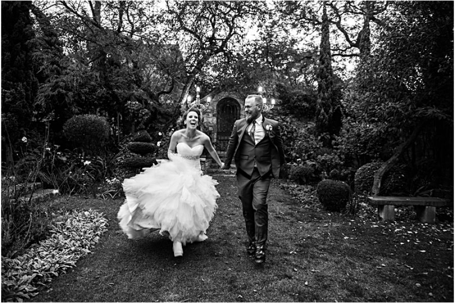 Michelle and Nick's wedding at Shepstone Gardens