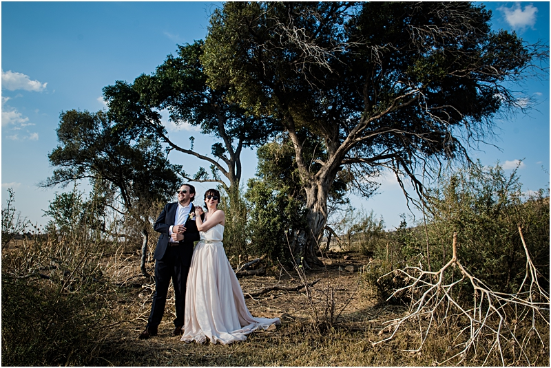 Nadine and Karsten's wedding in The Pilanesberg, South Africa