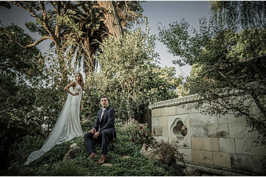 Guy & Cheri's wedding at Shepstone Gardens