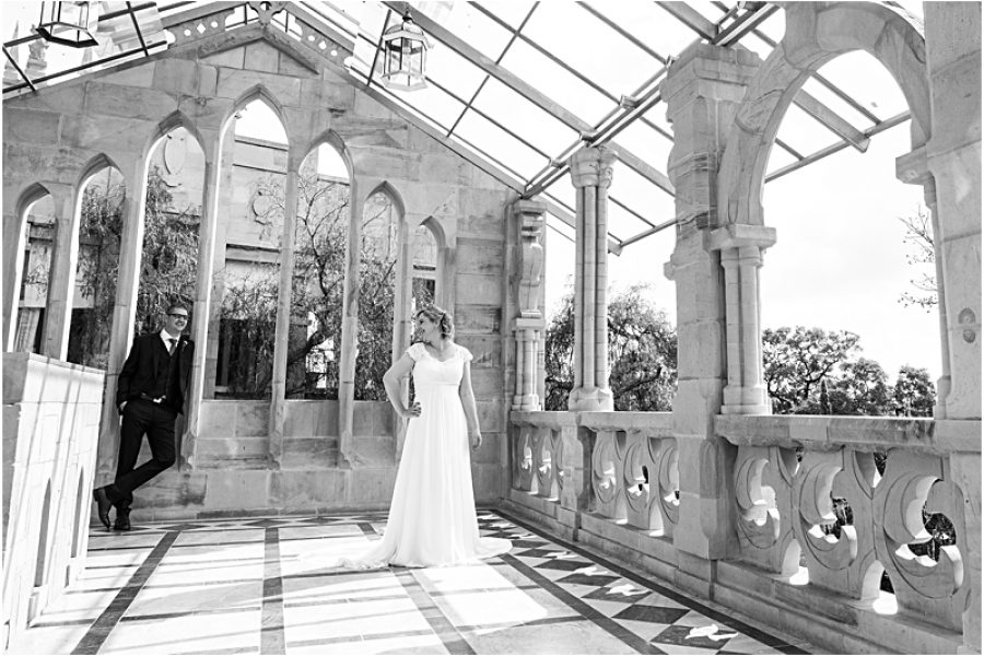 Ian and Julie's wedding at Shepstone Gardens