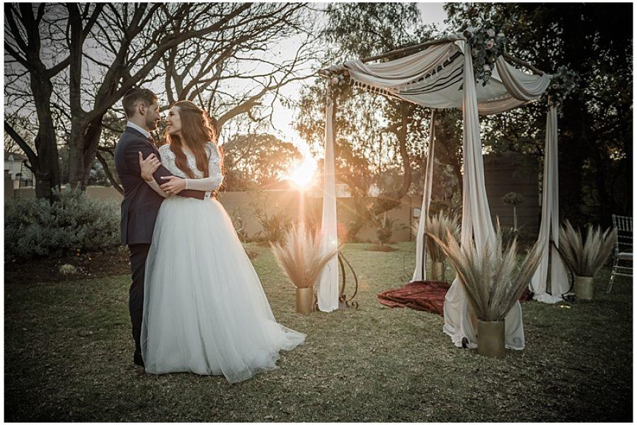 Martin & Tarryn's Glorious Wedding