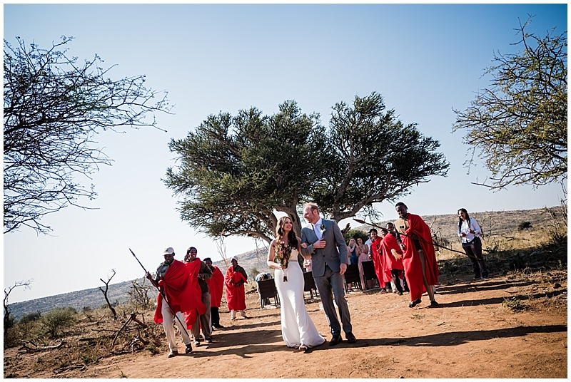 Kristy and Steve's Safari wedding at Makanyane