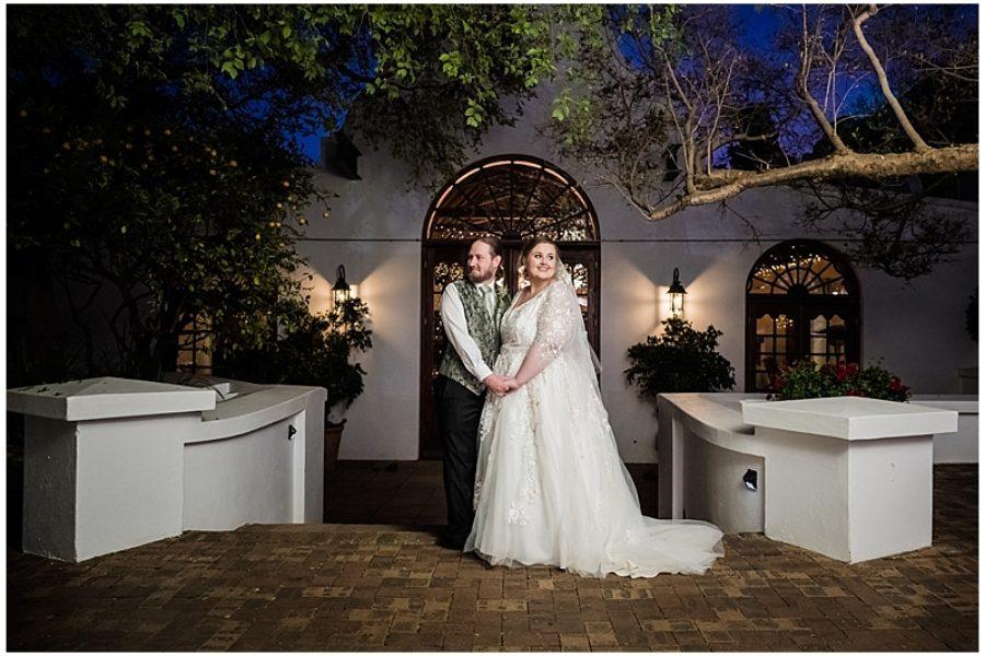 Eric & Ann's wedding at KleinKaap