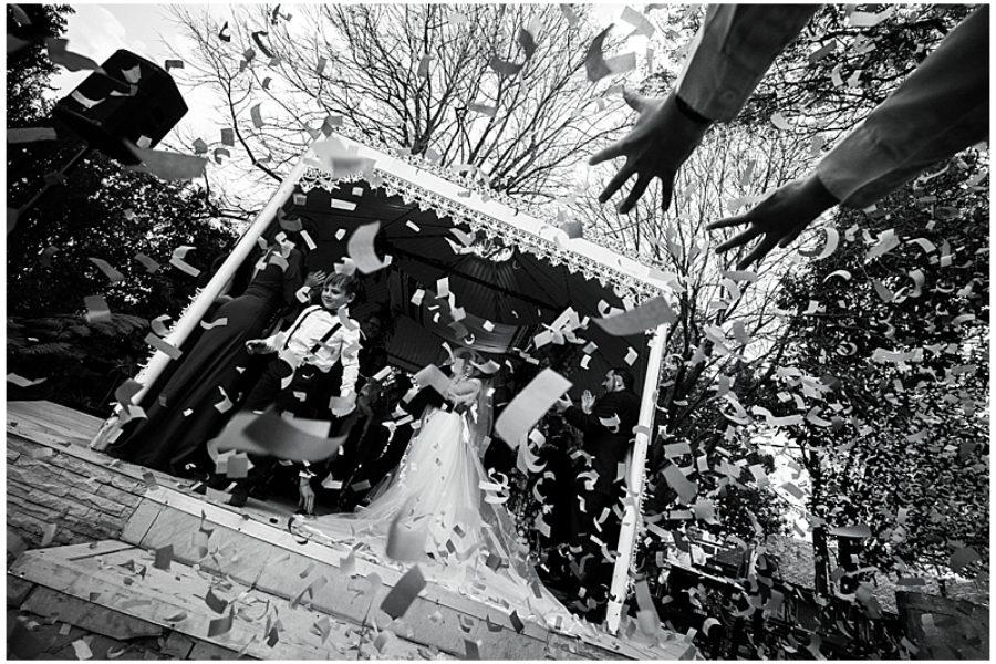 Natanya and Alon's wedding at The Wanderers Club