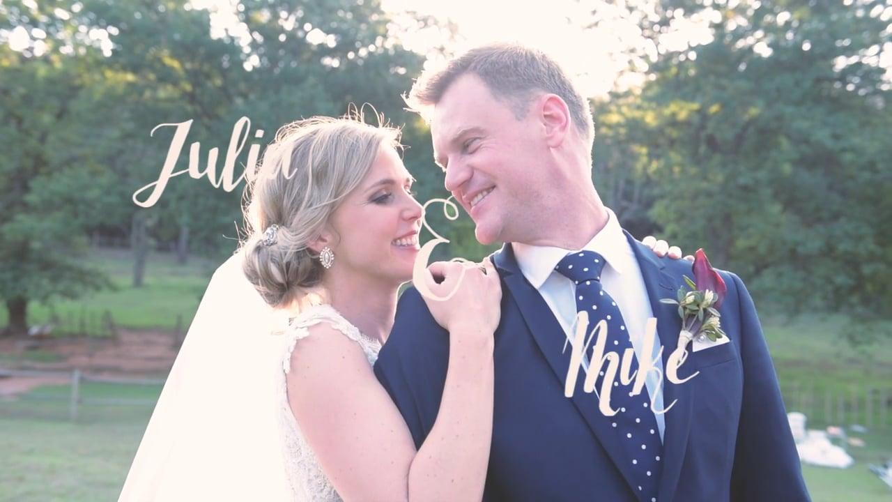 Julia & Mike's Wedding