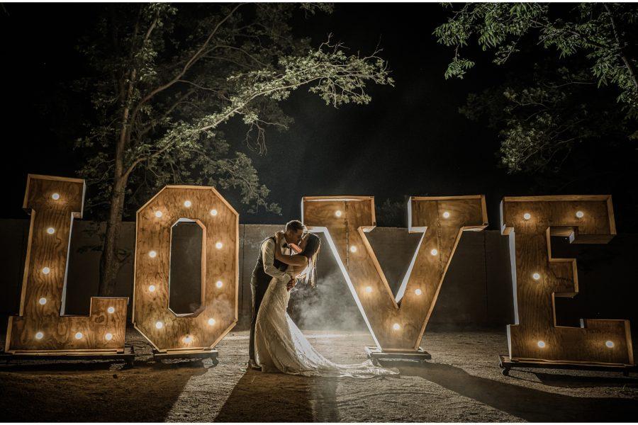 Alex and Tash's wedding at Ground