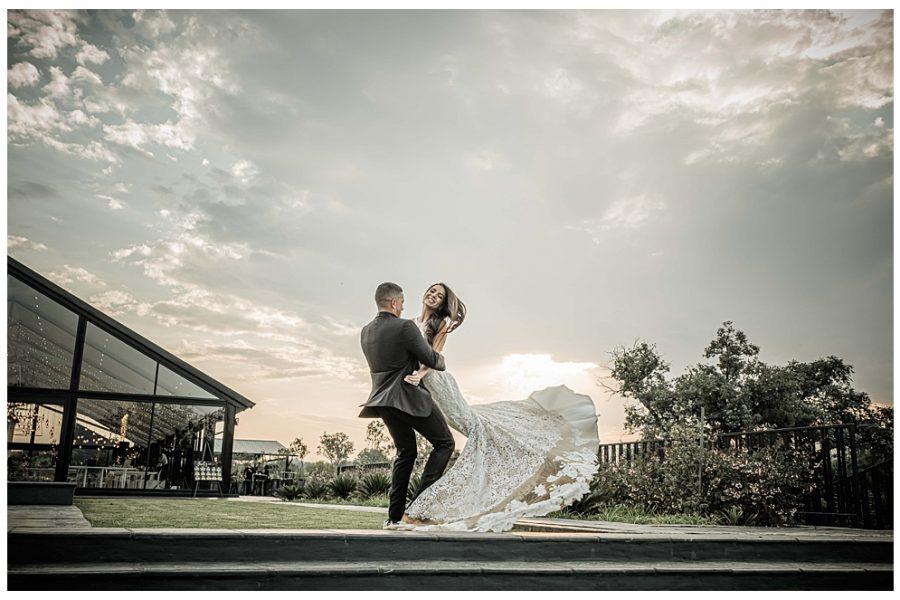 Chad & Micaela's wedding at Inimitable