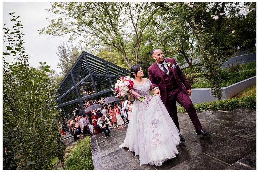 Greg and Natasha's wedding at Inimitable