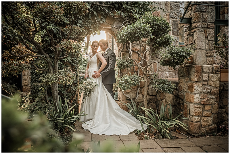 Pippa & Donald's wedding at Shepstone Gardens