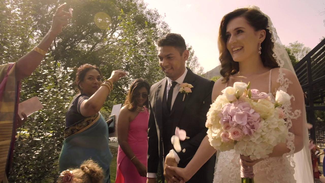 Devesh & Vanessa's wedding at Inimitable
