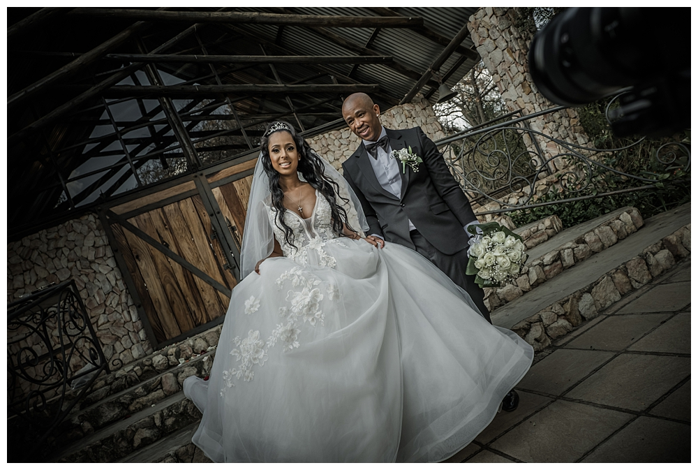 Theo & Vourne's lockdown wedding at Tres Jolie