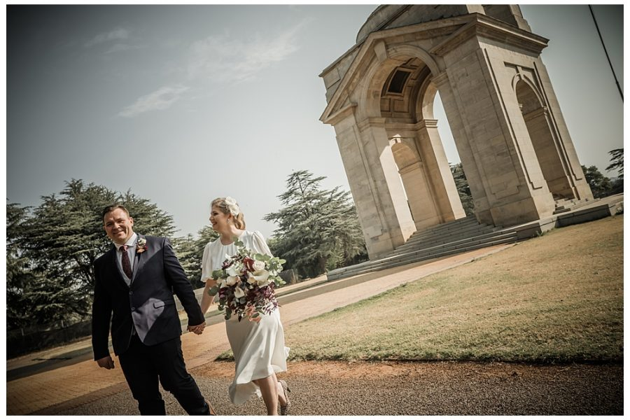 Kasia and Cinton's private elopement in Johannebsurg