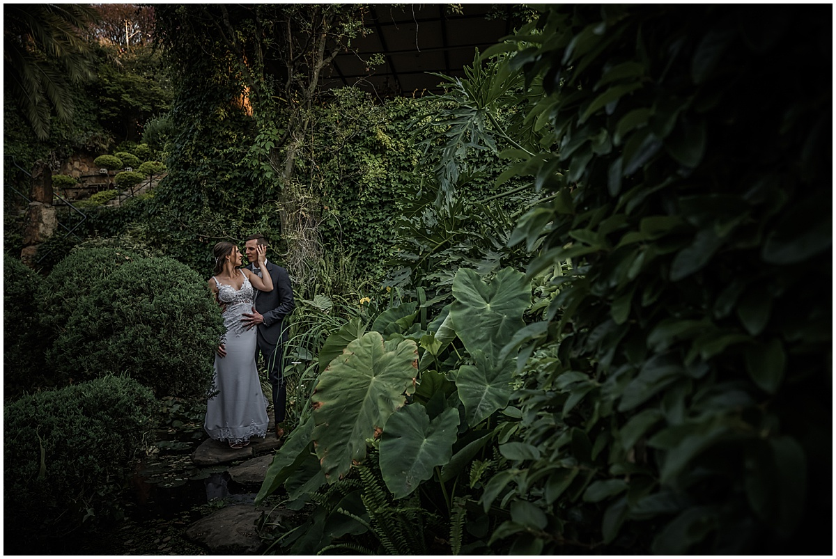 Ciaran & Millicent's wedding at Shepstone Gardens