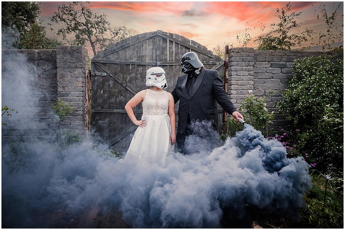 Toni & Ruan's wedding at Lieu de Grace