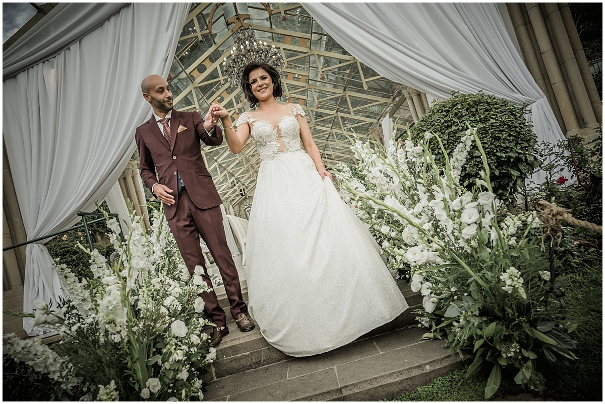 Daniella & Jake's glorious wedding at Shepstone Gardens