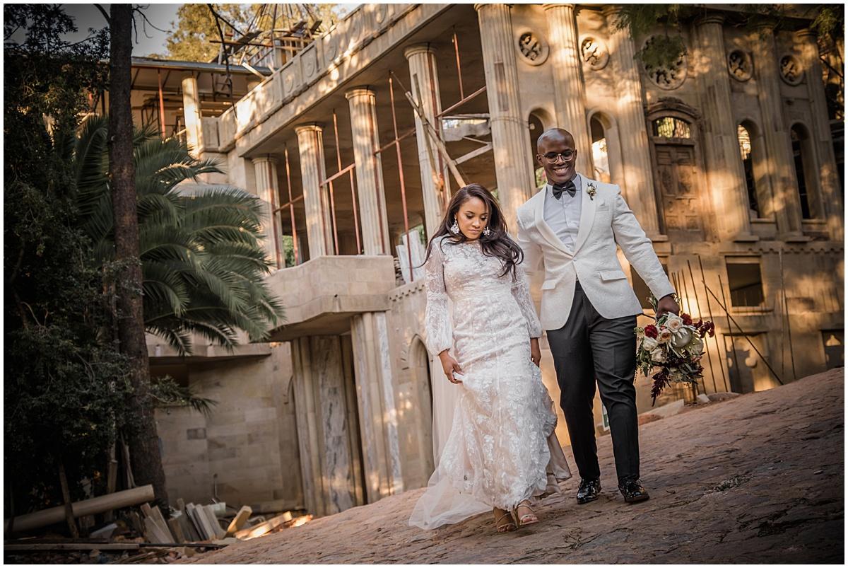 Junior & Melissa's wedding at Shepstone Gardens